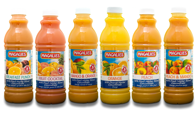 Magalies 1 litre Nectar concentrate BUNDLE OF 6