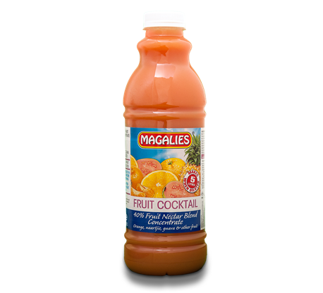 Magalies 1 litre Fruit Cocktail 40% 1+4 fruit nectar concentrate