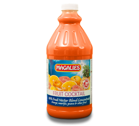 Magalies 2 litre Fruit Cocktail 40% 1+4 fruit nectar concentrate