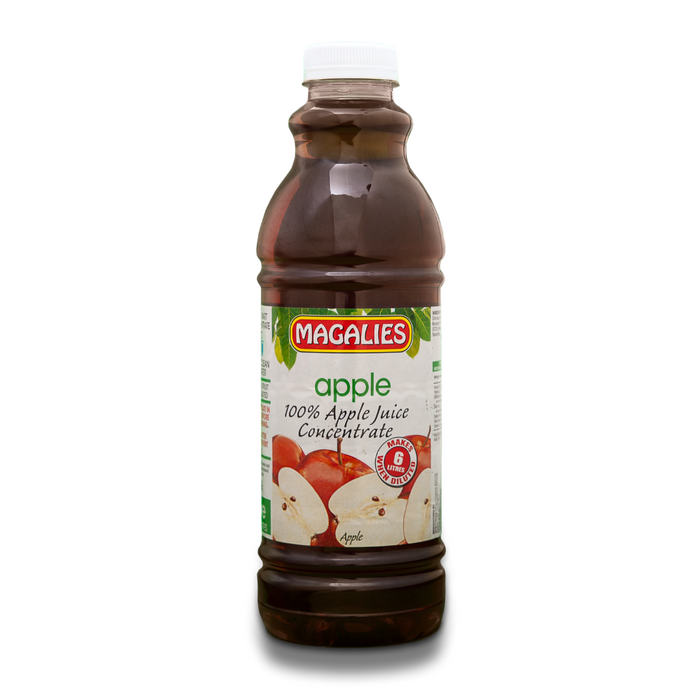 Magalies 1 litre Apple 100% 1+5 fruit juice concentrate