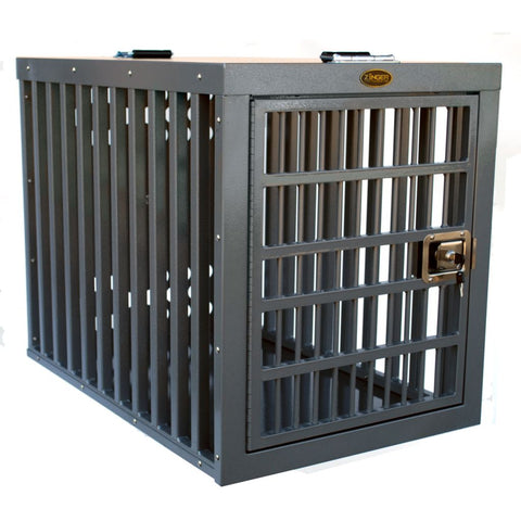 Zinger Heavy Duty Dog Crate with Side Entry