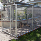 Rhino Dog Kennel 5'x10' with Roof