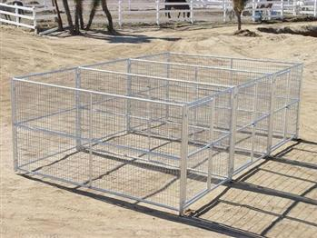 Rhino 3-Run Dog Kennel 6'x12'