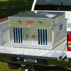 Owens Hunter Dog Box with Standard Vents and Top Storage
