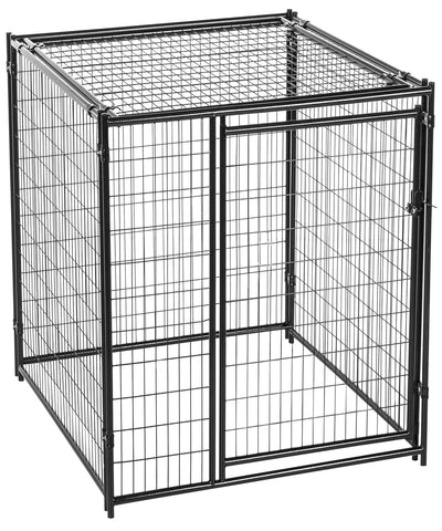 Lucky Dog Kennel with Predator Top 6' x 5'