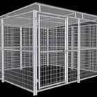 Rhino Dog Kennel 10'x10' with Roof Shelter 10'x10'