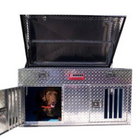Owens Hunter Dog Box With Standard Vents and Top Storage 48 W x 45 D x 26 H