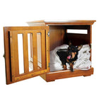 DenHaus Townhaus Dog Crate in Mahogany