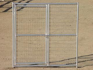 Rhino Dog Kennel Gate Panel 6'x6'