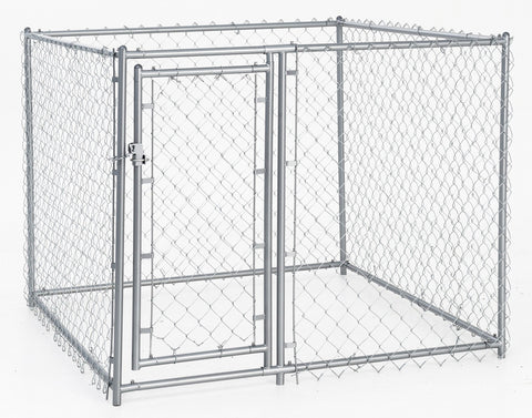 Lucky Dog Galvanized Chain Link Kennel 5'x5'