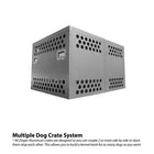 Zinger Double Dog Crate Systems