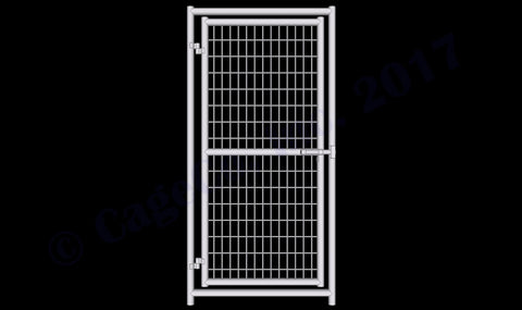 Rhino Dog Kennel Gate Panel 6'x3'