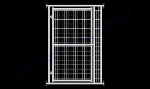 Rhino Dog Kennel Adjustable Wall Mounted Gate