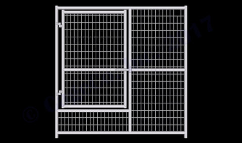 Rhino Dog Kennel Whelping Gate Panel 6'x6'