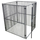Lucky Dog European Style Kennel with Predator Top 5'x5'