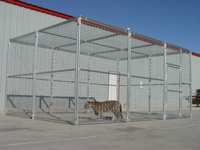 Rhino Exotic Animal Enclosure 18'W x 12'D x 8'H Animal Cage