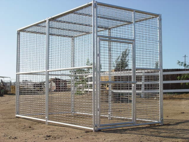 Rhino Exotic Animal Enclosure 6'W x 12'D x 8'H Exotic Animal Cage
