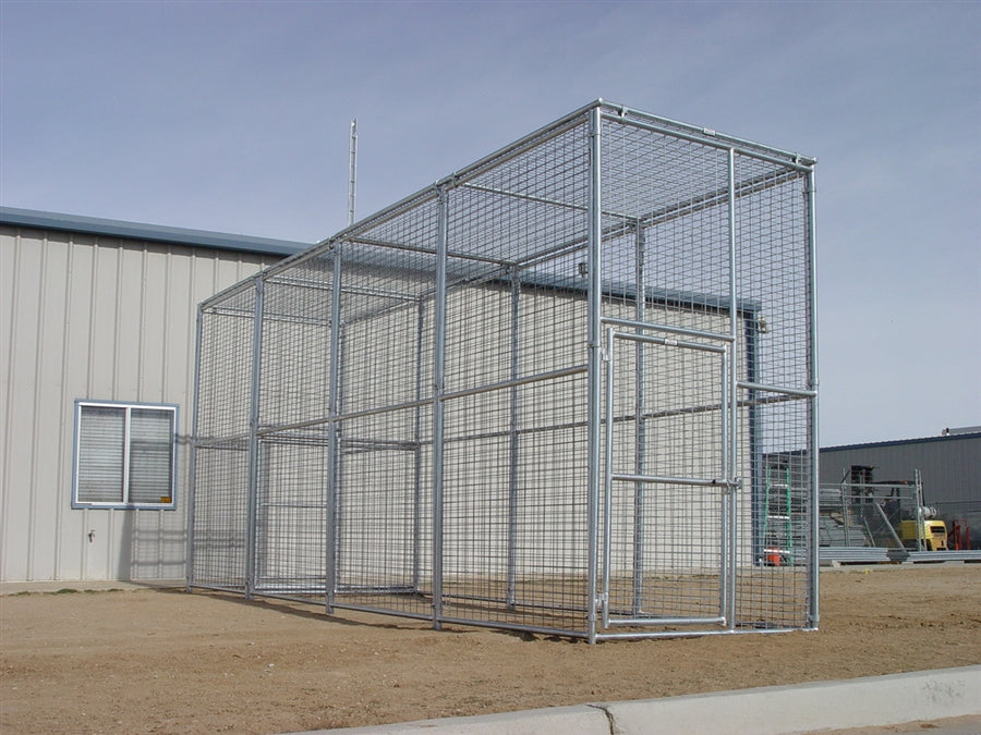 Exotic Animal Enclosure 6'W x 24'D x 10'H