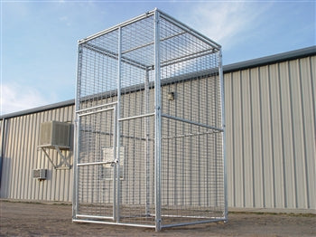 Exotic Animal Enclosure 6'W x 6'D x 10'H Exotic Animal Cage