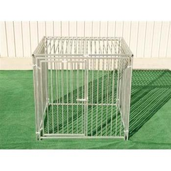 Rhino Dog Kennel in European Style with Roof 6'x6'