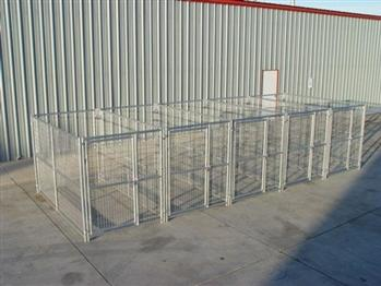 Rhino 5-Run Dog Kennel 5'x10'