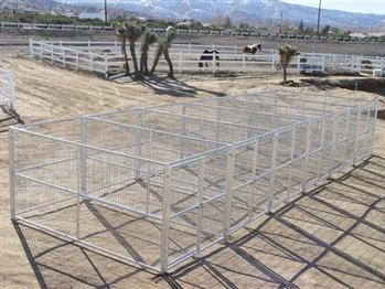 Rhino 6-Run Dog Kennel 6'x12'