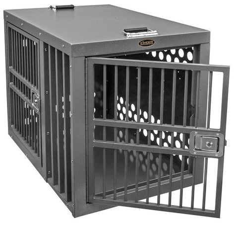 Zinger Professional Series Dog Crate with Front and Side Entry