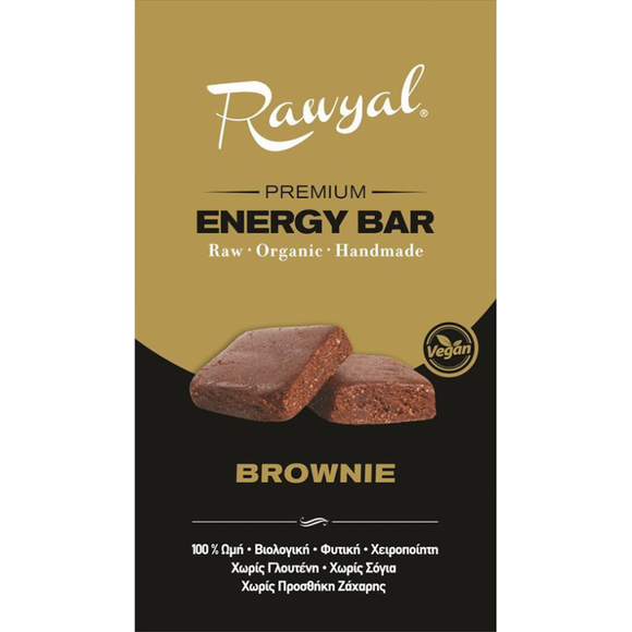 Rawyal Premium Raw Energy Bar Brownie