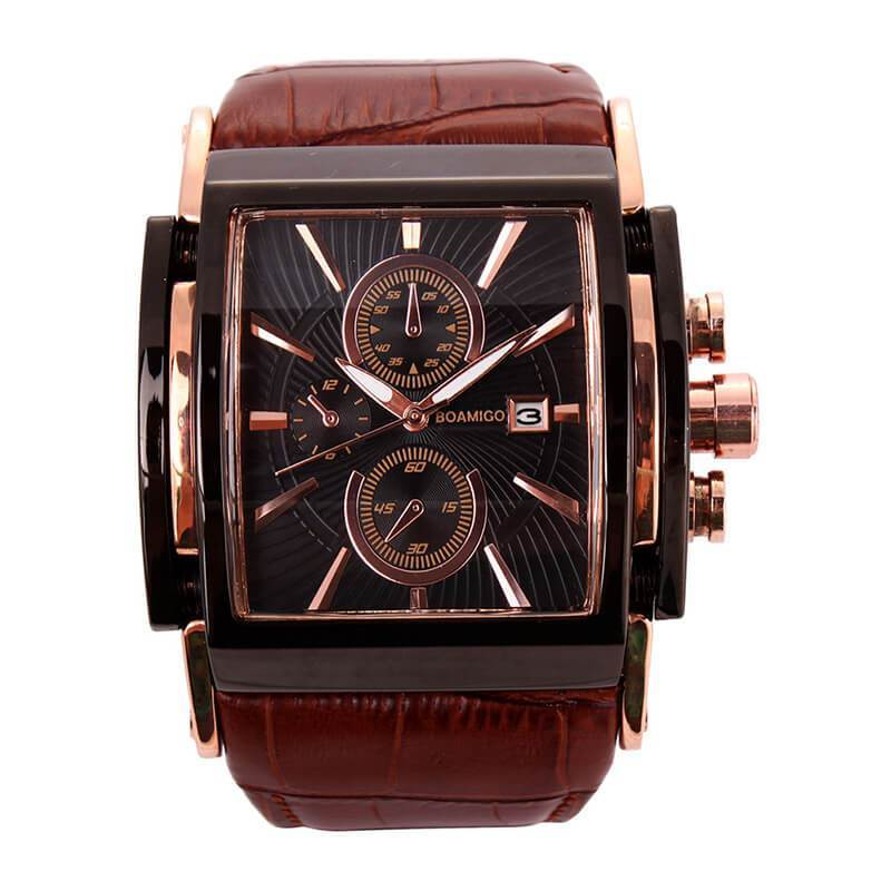 Fashion Casual Auto Date Male Wristwatch