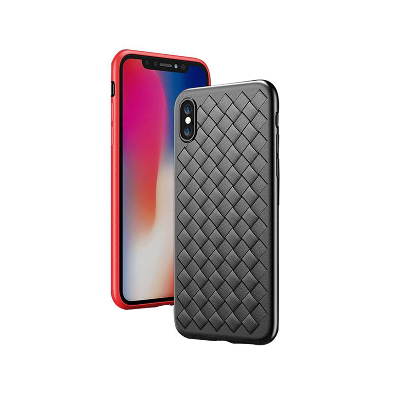 Luxury Grid Weaving Soft Phone Case For iPhone X/ 6 6S/ 6 6S Plus/ 7 8/ 7 8 Plus