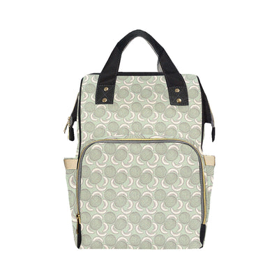 Cantaloupe Pattern Print Design 01 Diaper Bag Backpack