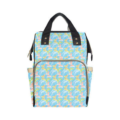 Butterfly Pattern Print Design 05 Diaper Bag Backpack