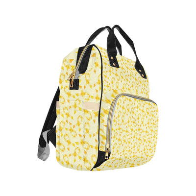 Bone cancer Pattern Print Design 01 Diaper Bag Backpack