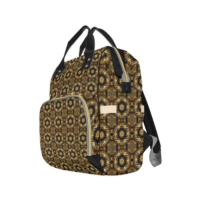 Celtic Pattern Print Design 07 Diaper Bag Backpack