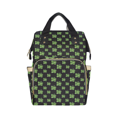 Cabbage Pattern Print Design 03 Diaper Bag Backpack