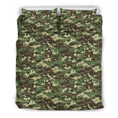 ACU Digital Army Camouflage Duvet Cover Bedding Set
