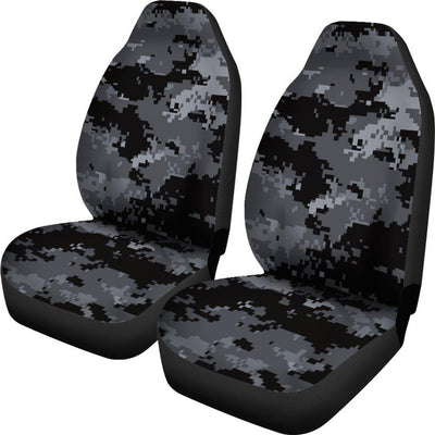 ACU Digital Black Camouflage Universal Fit Car Seat Covers