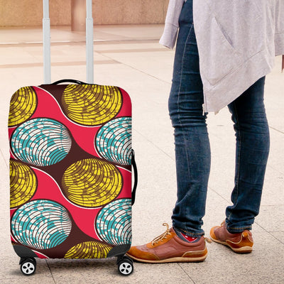African Fashion Print Pattern Luggage Cover Protector