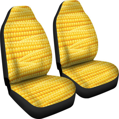 Agricultural Corn cob Pattern Universal Fit Car Seat Covers