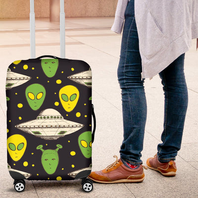 Alien UFO Pattern Luggage Cover Protector