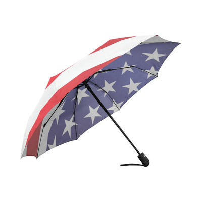 American flag Print Automatic Foldable Umbrella