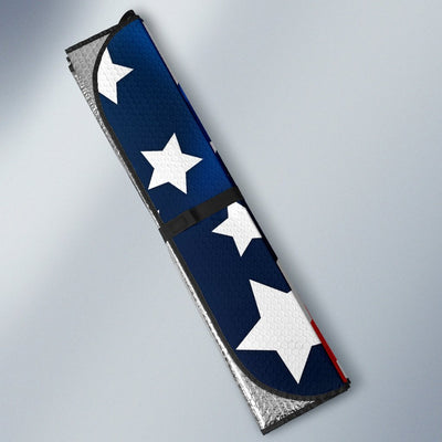 American Flag Style Car Sun Shade For Windshield