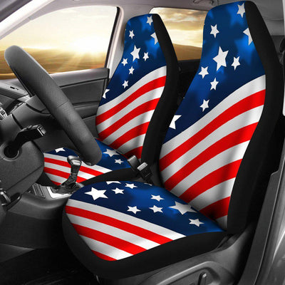 American flag Style Universal Fit Car Seat Covers