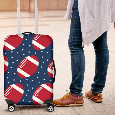 American Football Star Design Pattern Luggage Cover Protector