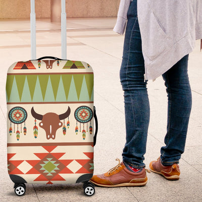 American Indian Ethnic Pattern Luggage Cover Protector