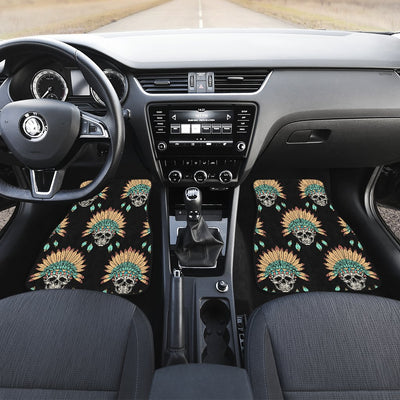 American indian Skull Pattern Car Floor Mats