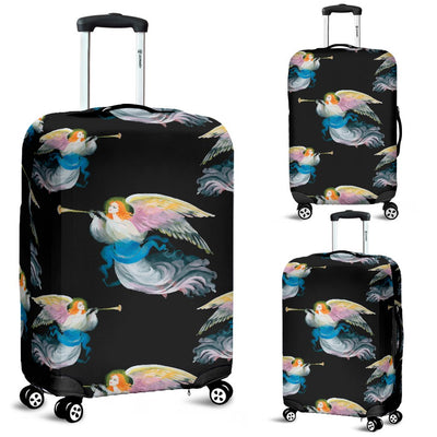 Angel With Wings Beautiful Design Print Luggage Cover Protector