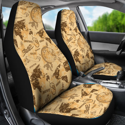 Atlas Design No1 Print Universal Fit Car Seat Covers