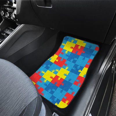 Autism Awareness Design Themed Print Car Floor Mats