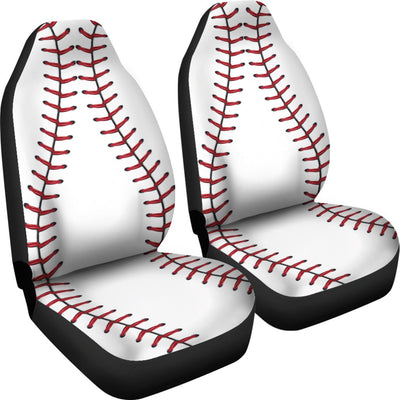 Baseball Design No1 Print Universal Fit Car Seat Covers